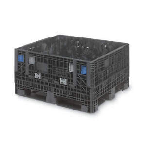 Orbis Collapsible Container 48 In L 45 In W bl 906031 Black
