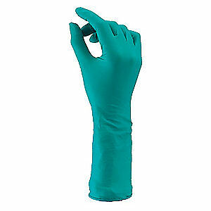 Ansell Cleanroom Gloves nitrile sz L pk200 93 700 Green