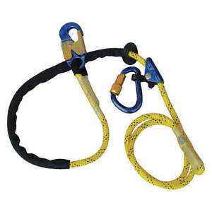 3m Dbi sala Positioning Lanyard 8 Ft 310 Lb 1234071 Yellow