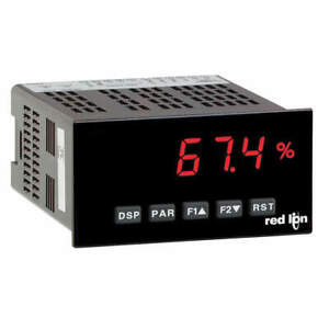 Red Lion Panel Meter Dc Red Display Vac Paxd0000