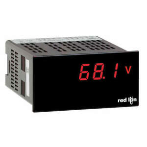 Red Lion Lite Ac Volt Meter Ul Listed Paxlva00