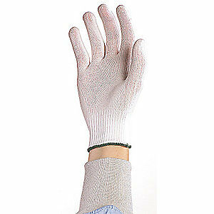 Berkshire Cleanroom Gloves nylon size M pk200 Bgl7 200mb White