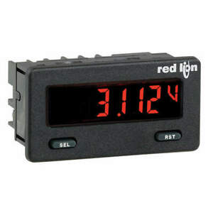 Red Lion Dc Voltmeter W Red green Backlight Cub5vb00