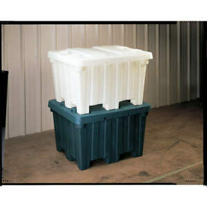 Orb High Density Polyethylene Bulk Container 48 In L gray Bc4842 30 Gray Gray