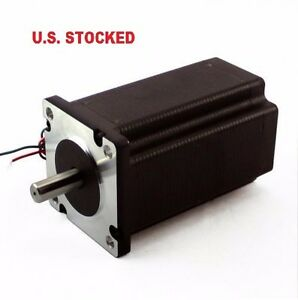 1pcs Nema23 570oz in 5a 1 4 Dual Shaft Stepper Motor
