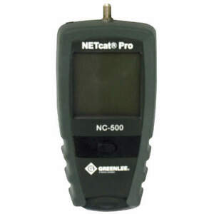 Greenlee Communications Netcat 500 Cable Tester Vdv Wiring Nc 500