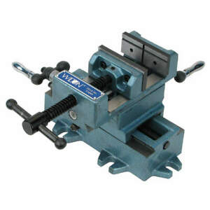 Wilton Drill Press Vise cross Slide 6 In Jaw 11696