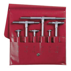 Mitutoyo Telescoping Gage Set 6 Pc 0 315 To 6in 155 903