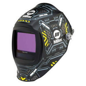 Miller Electric Auto Darkening Welding Helmet black 280047 Black