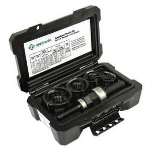 Greenlee Round Knockout Punch Kit 1 2 To 1 1 4 In 52084900