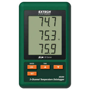 Extech Sd200 Temperature Datalogger 3 Channel