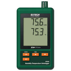 Extech Humidity temperature Datalogger Sd500