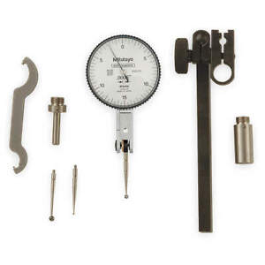 Mitutoyo Dial Test Indicator Set hori 0to0 030 In 513 412 10t