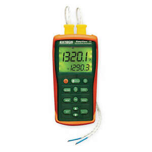 Extech Thermocouple Thermometer 2 Input Ea15