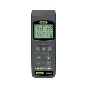 Thermocouple Thermometer type K 4 Inputs Dt4947sd