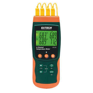 Thermocouple Thermometer 4 Input Sdl200