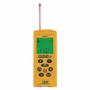 Johnson Level Tool Laser Distance Meter lcd 0 To 130 Ft 40 6004