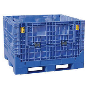 Buckhorn Collapsible Container 48x45 In blue Bn4845342023000 Blue