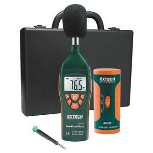 Extech Digital Sound Level Meter Kit 407732 kit