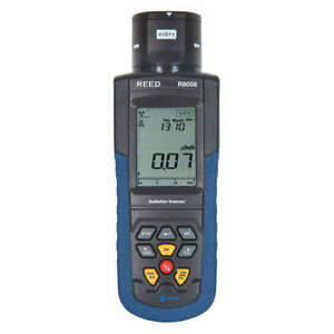 Reed Instruments Radiation Meter lcd 1 Year Warranty R8008