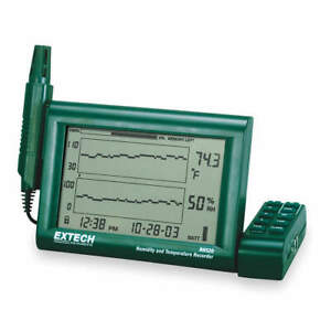 Extech Chart Recorder temperature And Humidity Rh520a