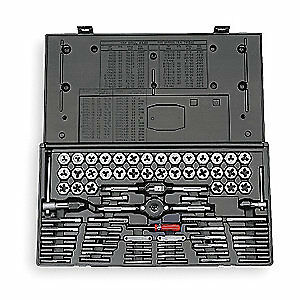 Vermont American Tap And Die Set 75 Pc carbon Steel 21741