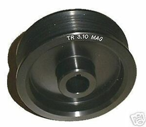 2 85 Magnacharger Radix Style 6 Rib Supercharger Pulley 2000 2006 Corvette