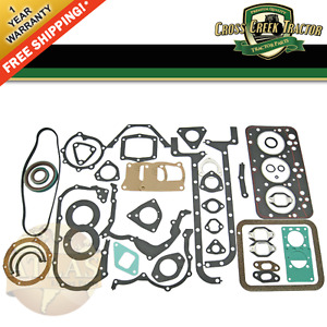 Tx13206 New Long fiat Tractor Overhaul Gasket Set 3 Cylinder 95mm Bore