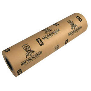 Armor Wrap Paper Roll 600 Ft l 12inw pk3 A30g12200 Natural Kraft
