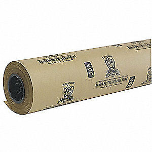 Armor Wrap Multi Purpose Paper Roll 600 Ft l 48inw Mpi48200 Natural Kraft