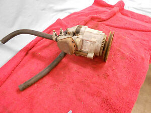 1968 72 Chevrolet Smog Pump With Pulley And Diverter Valve