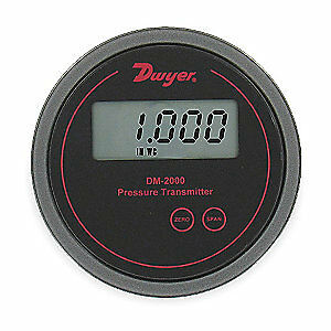 Dwyer Instruments Pressure Transmitter lcd 0 To 1 In Wc Dm 2004 lcd