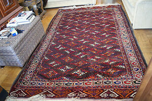 Antique Collector S Very Rare Genuine Turkmen Tekke Yomud Rare Tribal 11 By7
