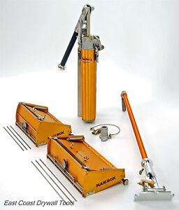 Tapetech 10 12 Drywall Maxxbox Set W 34 Handle And Pump Free Blades