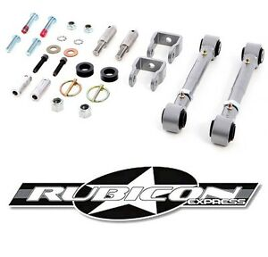 Rubicon Express 2 5 5 5 Sway Bar Disconnects For 1997 2006 Jeep Wrangler Tj