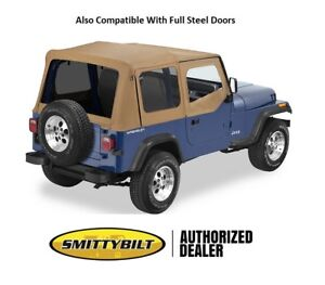 Smittybilt Tinted Oem Replacement Top And Door Skins For 1988 1995 Jeep Wrangler