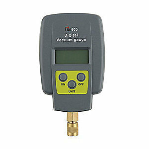 Test Products Intl Digital Vacuum Gauge 15 To 12000 Microns 605