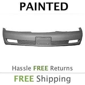 New Fits 2003 2004 2005 Cadillac Deville W fog Front Bumper Painted Gm1000611
