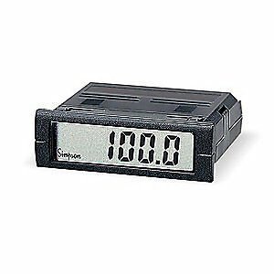 Simpson Electric Digital Panel Meter dc Voltage M235 0 2 13 0