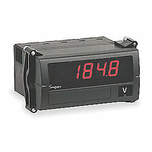 Simpson Electric Digital Panel Meter dc Voltage F35 1 11 0