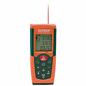 Extech Laser Distance Meter 2 In To 164 Ft Dt300