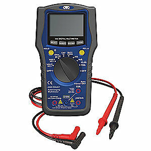 Otc Digital Multimeter lcd 750 Ac Volts 3940