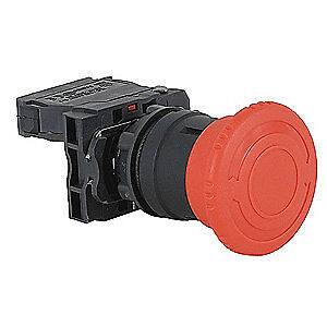 Schneider Electric Emergency Stop Push Button plastic red Xb5as8445 Red