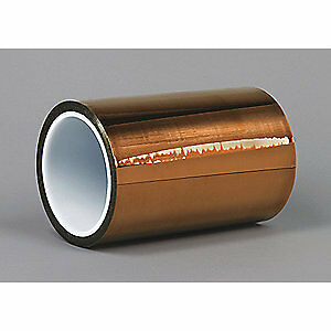 Dupont Film Tape polyimide amber 4 In X 100 Ft Kapton Hn