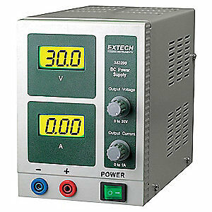 Extech Digital Single Output Dc Power Supply 382200