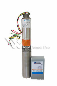 40gs15412c Goulds 40gpm 1 5hp 4 submersible Water Well Pump Motor 230v 3 Wire