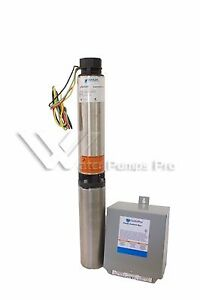 7sb05411c Goulds 7gpm 1 2hp 4 Submersible Water Well Pump And Motor 3 Wire 115v