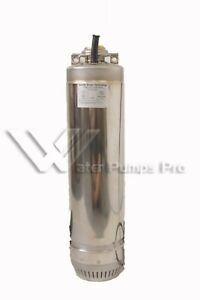 Goulds 1sc51c1aa Bottom Suction Submersible Water Well Pump 1 2 Hp