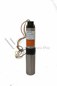 7hs10412cl Goulds 7gpm 1hp 4 Submersible Water Well Pump Motor 3 Wire 230v