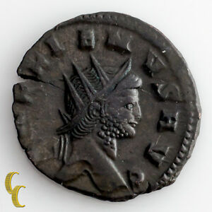 253 268 Ad Gallienus Billion Antonininus Coin